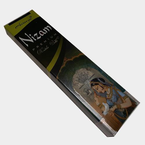 عود خوشبو کننده آمریا Amreeya مدل دست ساز آمریا نیزم (نیزام معروف ترین عود در هند) Nizam