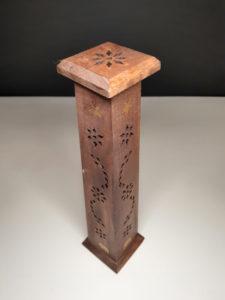 جاعودی چوبی زیبا طرح اوم برای مدیتیشن